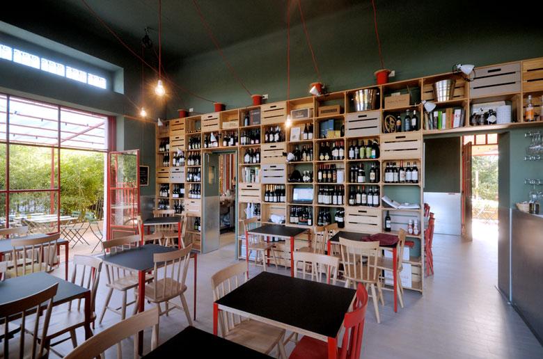 Rgastudio architettura design milano for Arredamento ristorante design